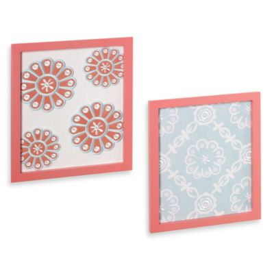 CoCaLo™ Dahlia 2-Piece Wall Art