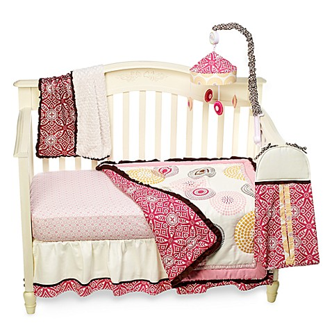 CoCaLo™ Iris 4-Piece Crib Bedding