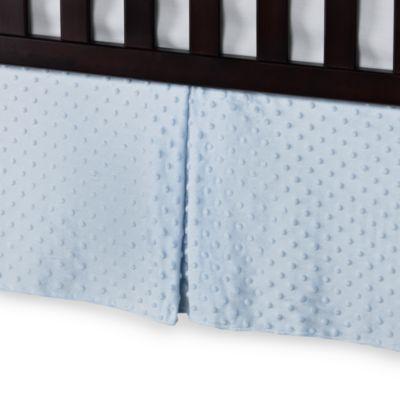 Blue Crib Skirt