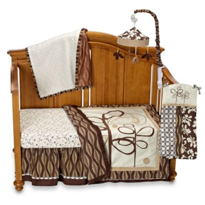 CoCaLo® Pewter 4-Piece Crib Bedding Set