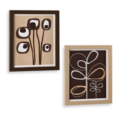 CoCaLo™ Pewter 2-Piece Wall Art