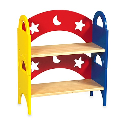 Guidecraft Moon & Stars Stack Shelves (Set of 2)