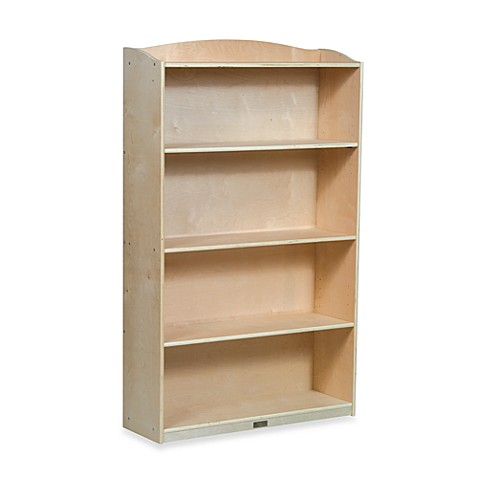 Guidecraft Single-Sided 60-Inch H Bookcase