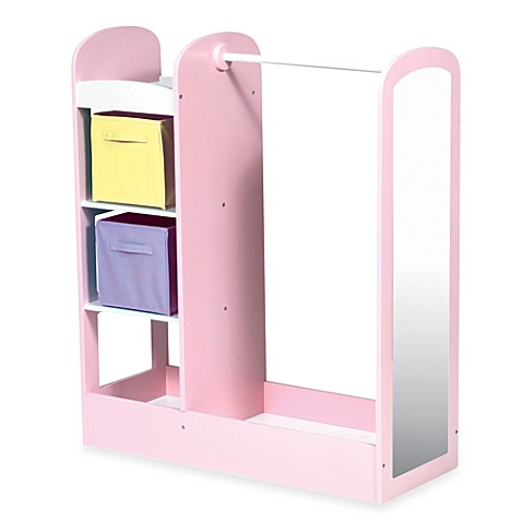 Guidecraft See and Store Dress-Up Center in Pastel