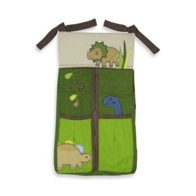 Adorable Dino Diaper Stacker by Jill McDonald