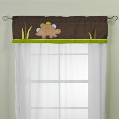 Adorable Dino Valance by Jill McDonald