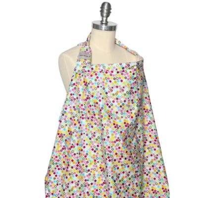 Bebe au Lait® Nursing Cover in Hot Dots