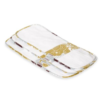Bebe au Lait® Burp Cloths in Ascot (Set of 3)