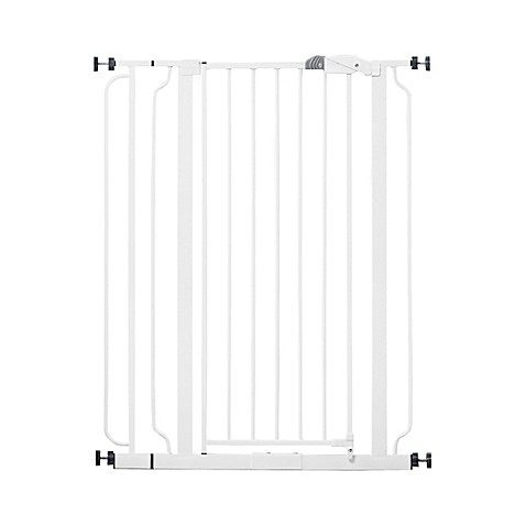 Hardware Mounted Gates Gt Regalo 174 Easy Step Extra Tall Walk Through Gate From Buy Buy Baby