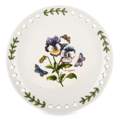 Portmeirion® Botanic Garden 8.5-Inch Pierced Plate in Pansy