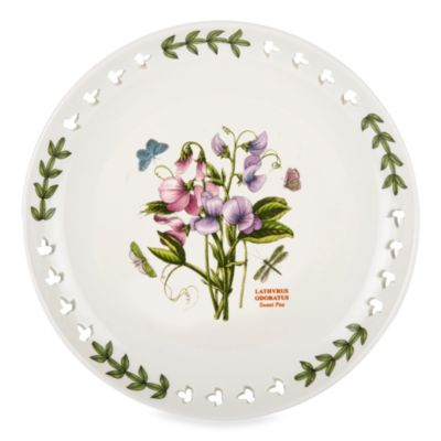 Portmeirion® Botanic Garden 8.5-Inch Pierced Plate in Sweet Pea