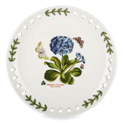 Portmeirion® Botanic Garden 8.5-Inch Pierced Plate in Primula