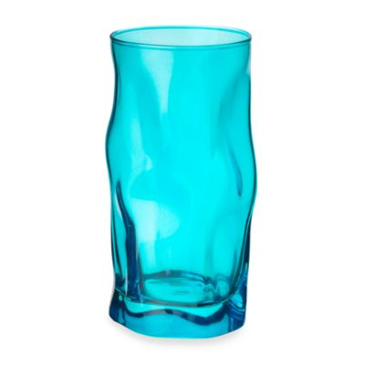 Bormioli Rocco Sorgente 14.75 Oz. Cooler Glass in Blue