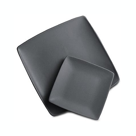 Colorwave Graphite 7-Inch Square Plate