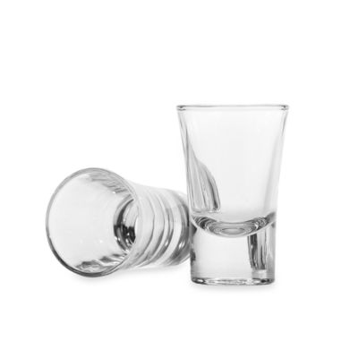 Circleware Midtown 1.5-Ounce Shot Glasses (Set of 6)