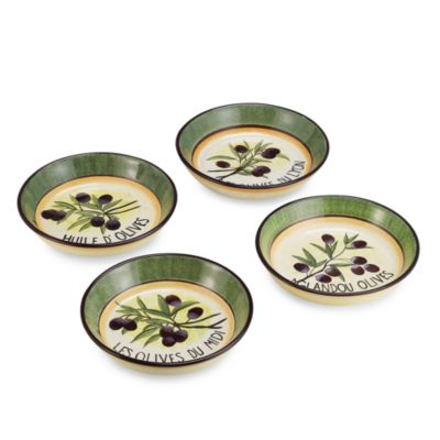 Garden of Olives Pasta Bowl (Set of 4)