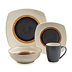 Sango Dazzle Cream 16-Piece Dinnerware Set