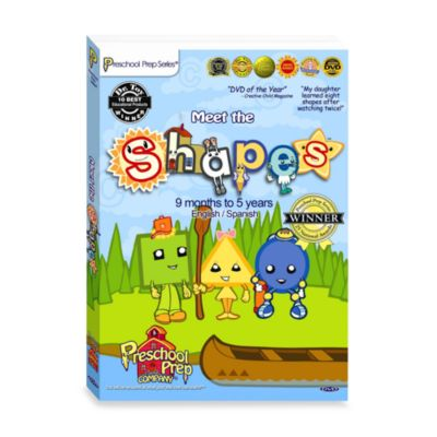 Preschool Prep Company® Meet the Shapes DVD