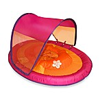 Swimways Baby Spring Float W Canopy Hibiscus Pink/Orange
