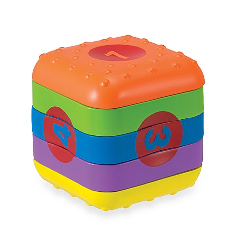 Manhattan Toy® Whoozit Learn & Play Cube