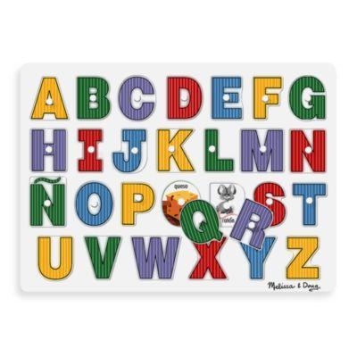 Melissa & Doug® Spanish Alphabet Peg Puzzle