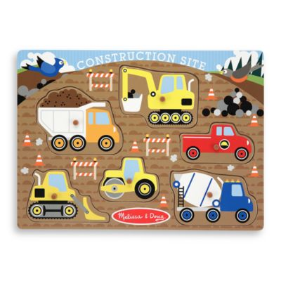 Melissa & Doug® Construction Peg Puzzle