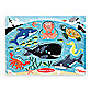Melissa & Doug® Sea Creatures Peg Puzzle