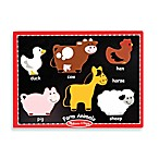 Melissa & Doug® First Chunky Farm Animals Puzzle