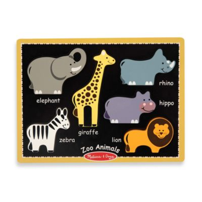 Melissa & Doug® Zoo Animals First Chunky Puzzle