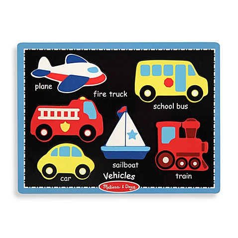 Melissa & Doug® Vehicles First Chunky Puzzle