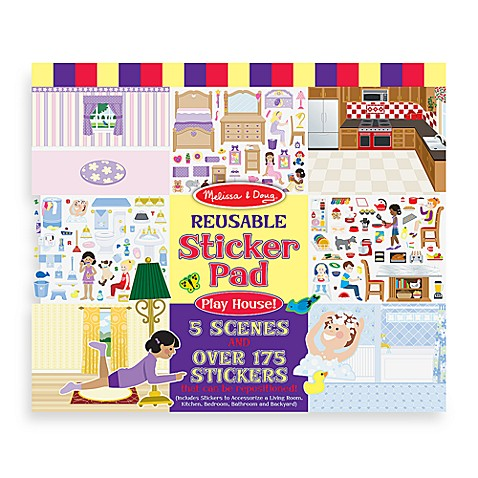 Melissa & Doug® Sticker Pad Play House