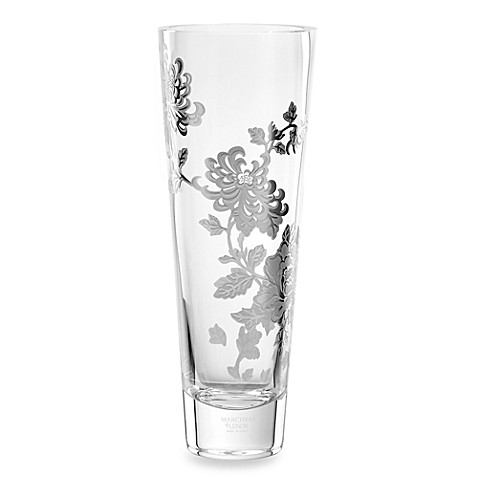 Marchesa by Lenox® Painted Camellia 16-Inch H Crystal Statement Vase