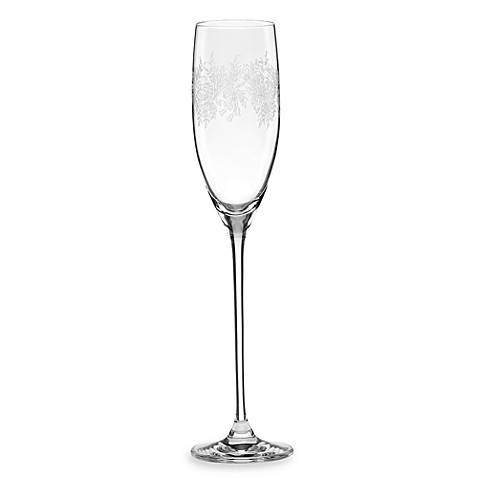 Marchesa by Lenox® Paisley Bloom 6-Ounce Crystal Toasting Flute