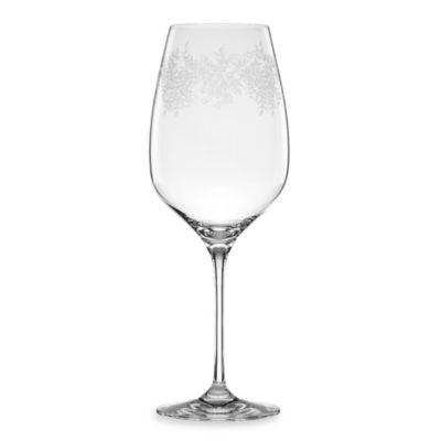 Marchesa by Lenox® Paisley Bloom 25-Ounce Crystal Goblet
