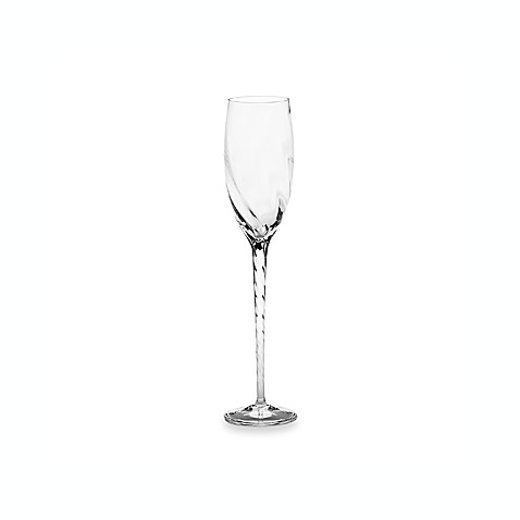 Marchesa by Lenox® Pleated Swirl Crystal Flute