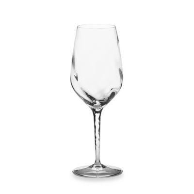 Marchesa by Lenox® Pleater Swirl Crystal White Wine Glass