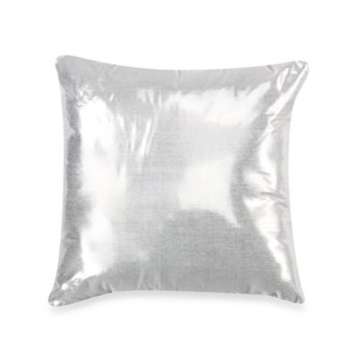KAS® White Capri 18-Inch Square Toss Pillow
