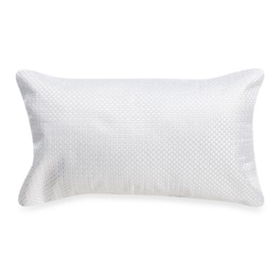 KAS® White Capri Breakfast Pillow