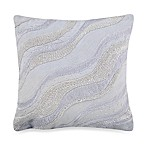 KAS® White Ginko 12-Inch Square Toss Pillow