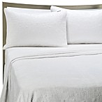 KAS® White Squared King Sham