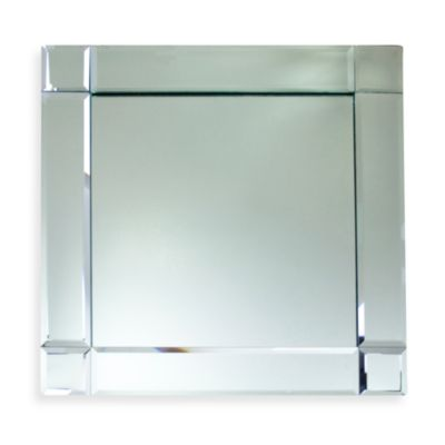 ChargeIt! by Jay Square Mirror 13-Inch Charger in Chloe