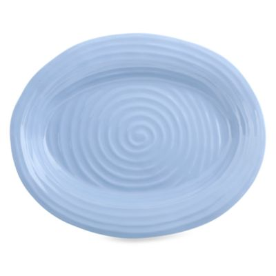 Sophie Conran for Portmeirion® Blue 14 1/2-Inch x 12-Inch Oval Platter