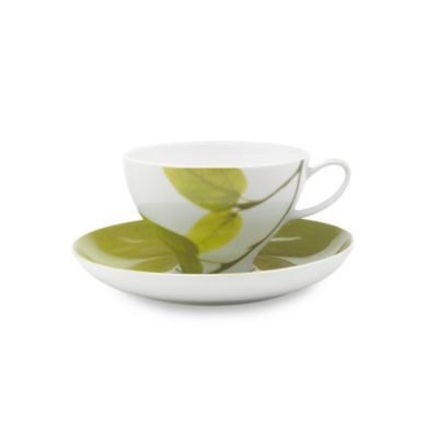 Dishwasher Safe Teacup and Saucer Set