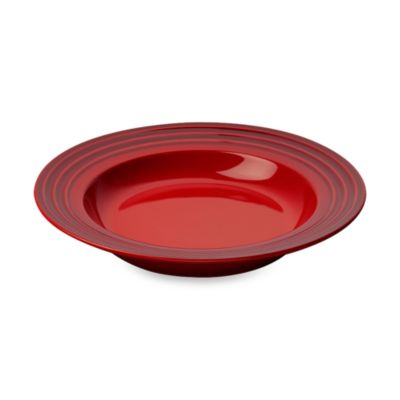 Le Creuset® 10-Inch Rimmed Soup Bowl in Cherry