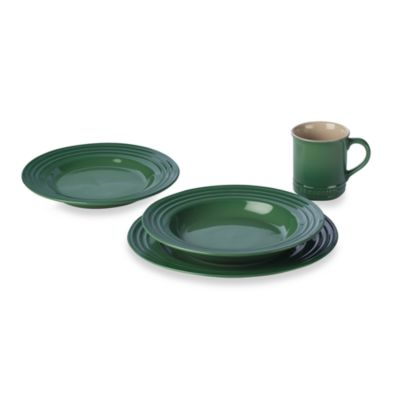 Le Creuset® 4-Piece Place Setting in Fennel