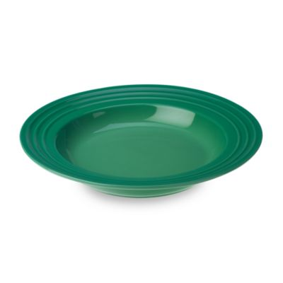 Le Creuset® 10-Inch Rimmed Soup Bowl in Fennel