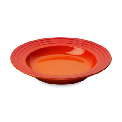 Le Creuset® 10-Inch Rimmed Soup Bowl in Flame