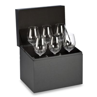 Waterford® Lismore Essence Goblet Deluxe Gift Box Buy 5 Get 6 Value Set