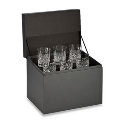 Waterford® Lismore Double Old Fashioned Deluxe Gift Box (Set of 6)