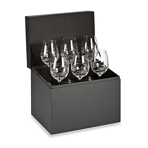 Waterford® Ballet Ribbon Essence Goblet Deluxe Gift Box (Set of 6)